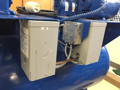 200V motor running on 240V? -Air compressor troubles - Page 2