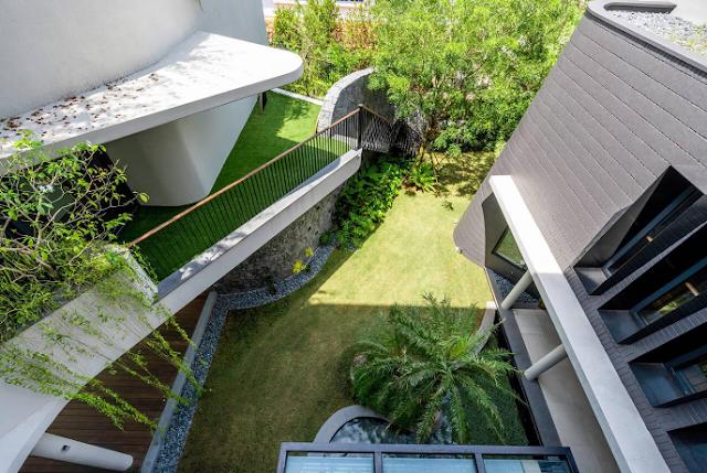Mẫu thiết kế ôm trọn không gian vườn xanh