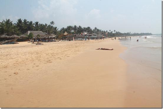 Хіккадува, пляж