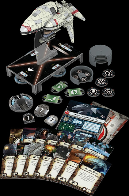 Fragata asalto modelo II Star Wars Armada Wave 1