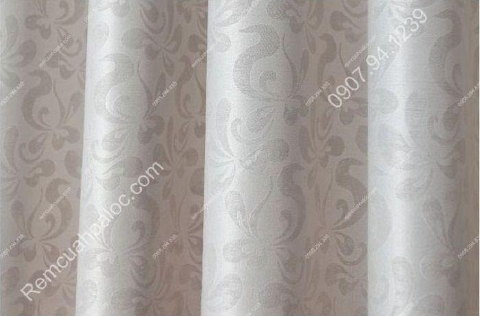 Rèm cửa đẹp cao cấp một màu tím nhạt  12