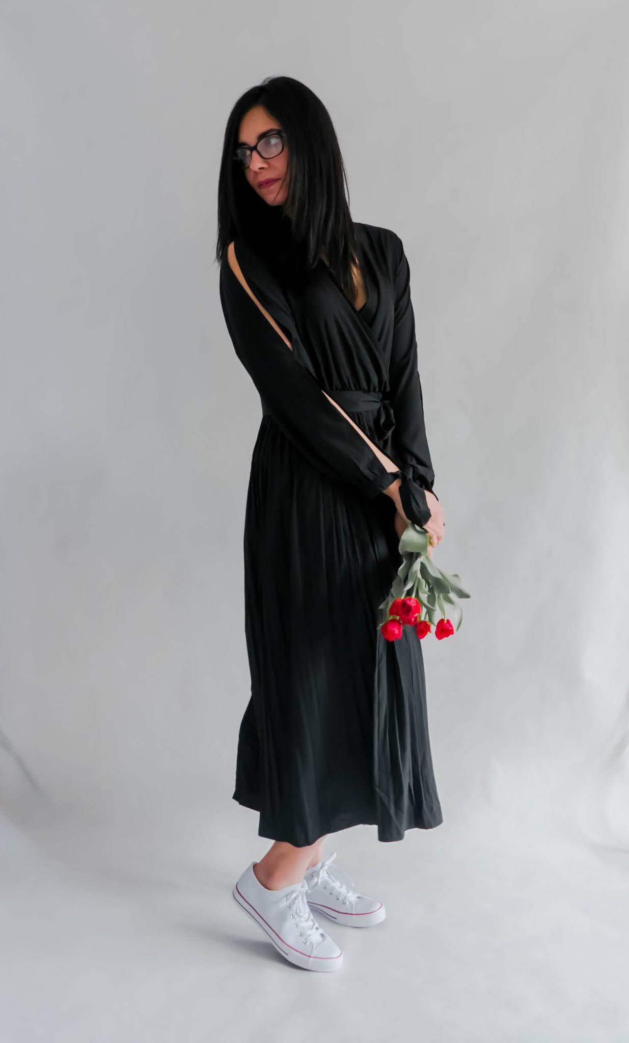 z czym łączyć sukienki maxi