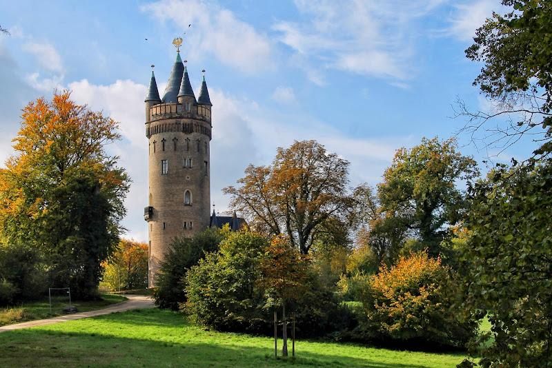 Der Flatowturm im Babelsberger Park
