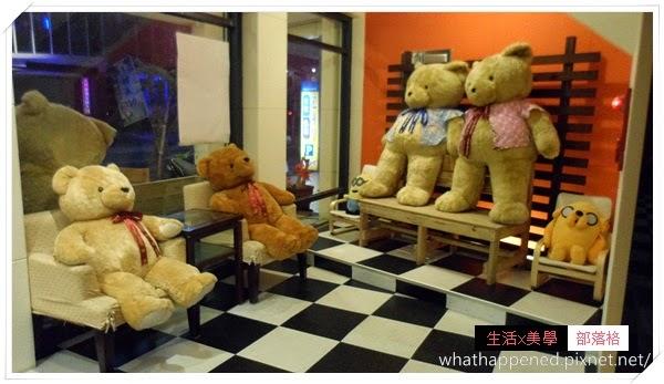 泰迪熊的民宿