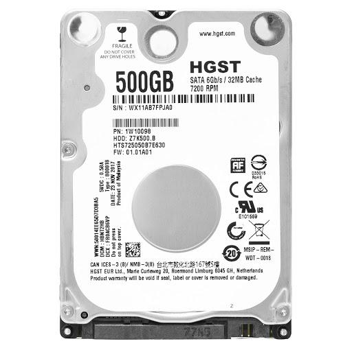 ổ cứng HDD HGST 500GB 2.5