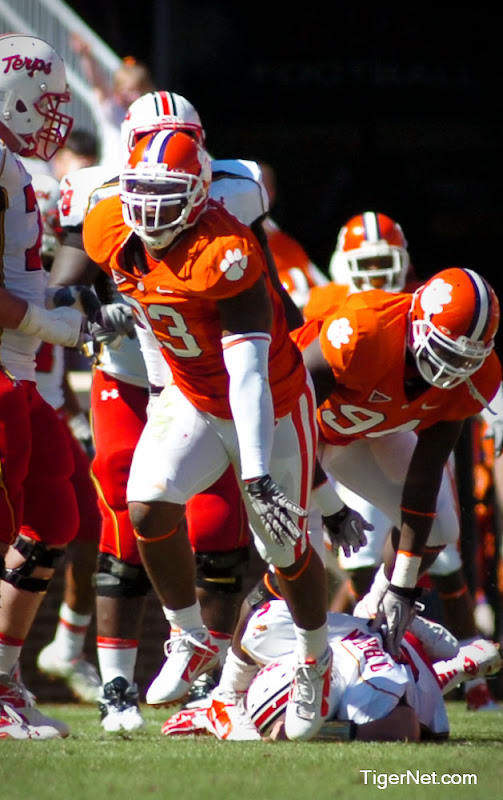 Clemson vs. Maryland Photos - 2010, Da'Quan Bowers, Football, Maryland