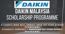 Daikin Malaysia Group Scholarship