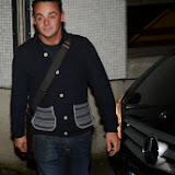 WWW.ENTSIMAGES.COM -   Anthony McPartlin    leaving           Text Santa at The London Studios, Upper Ground, London December 20th 2013                                           Photo Mobis Photos/OIC 0203 174 1069
