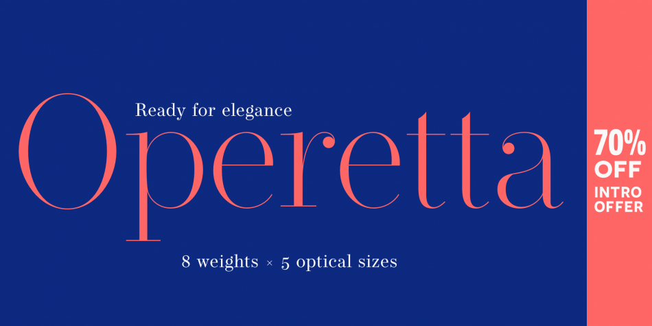 Download Operetta Font Family From Synthview Type Design