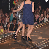 OIC - ENTSIMAGES.COM - Nikki Grahame and Emma Willis at the Big Brother 2015 - Ninth eviction London June 26th 2015  Photo Mobis Photos/OIC 0203 174 1069