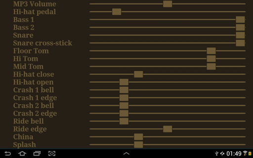 Drum kit (Drums) free 1.5 screenshots 10