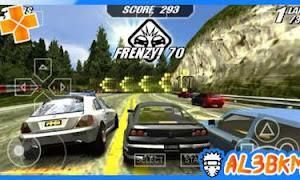 تحميل لعبة تصادم السيارات Burnout Legends psp iso مضغوطة لمحاكي ppsspp