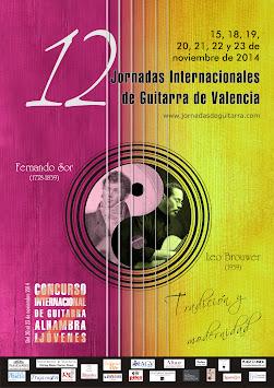 XII Jornadas de Guitarra 2014