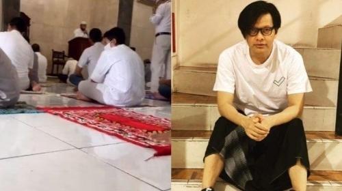 'Bruuk!' Armand Maulana Tersungkur Saat Sholat, Takbir Bersahutan, Mengira Suami Dewi Gita Meninggal.