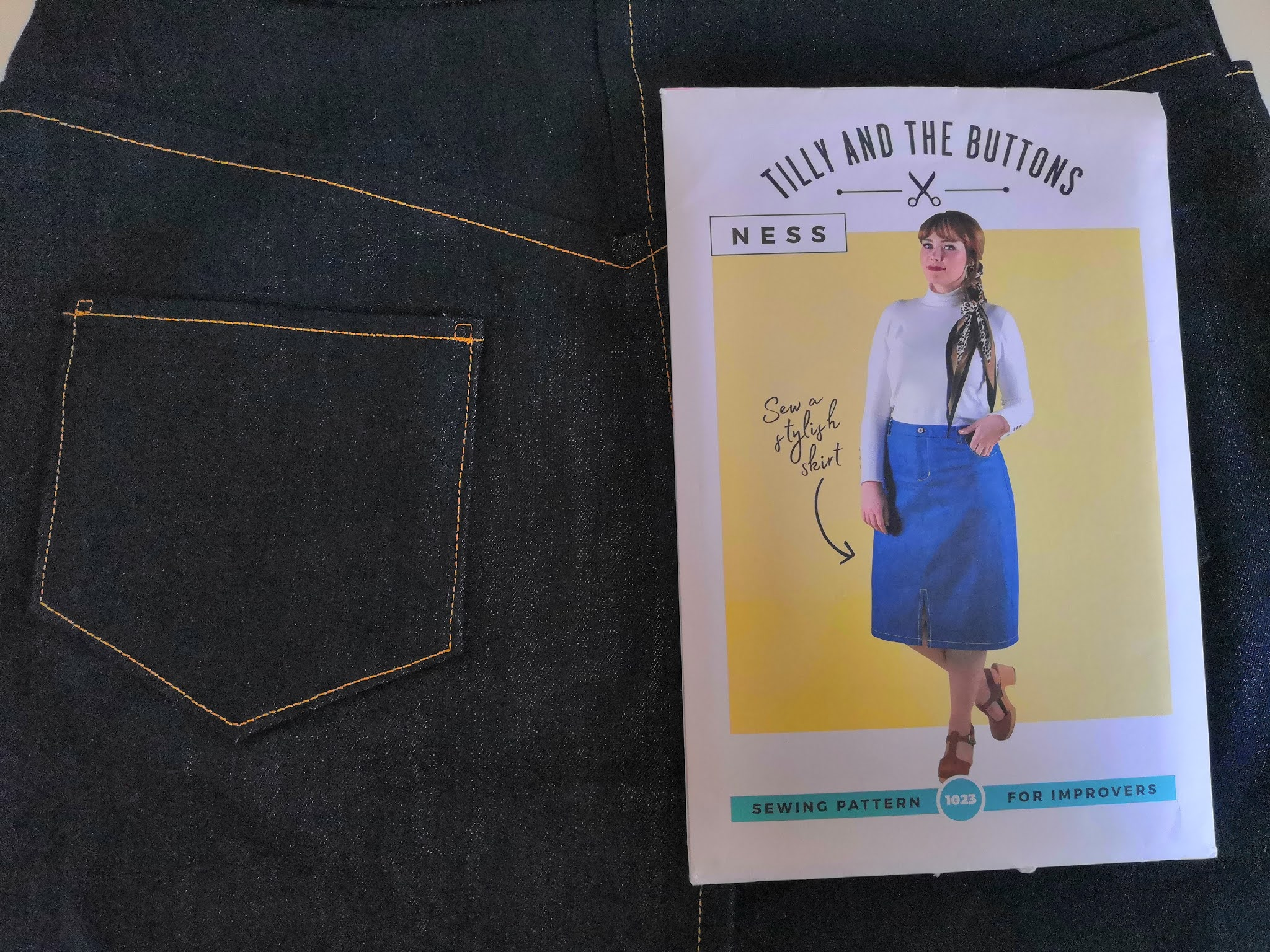 Tilly and the Buttons Ness Skirt pattern review