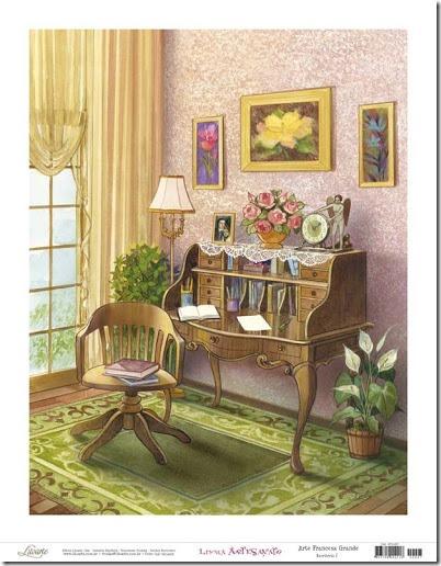 láminas antiguas, ilustraciones viviendas  (13)