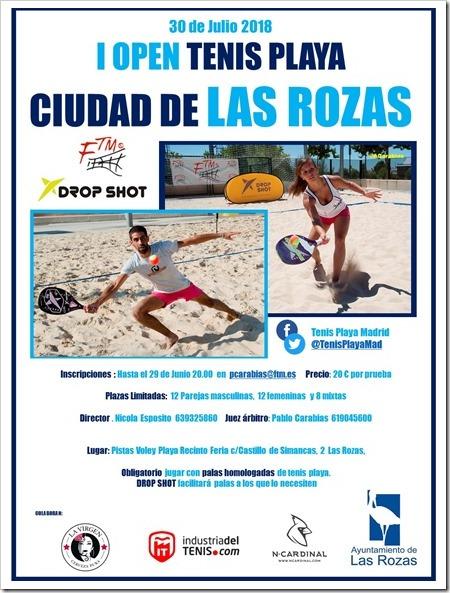 Open de Tenis Playa Ciudad de la Rozas 2018