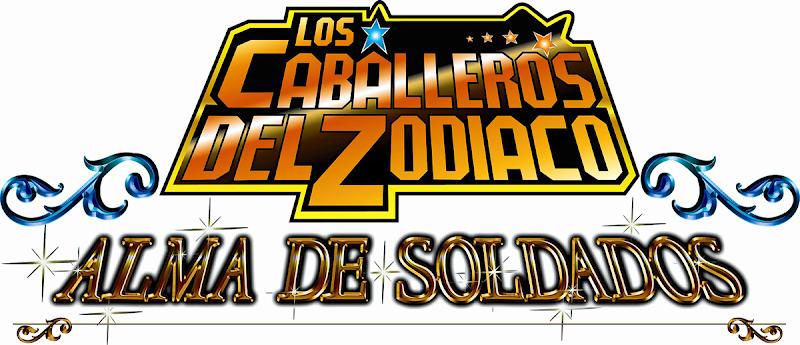 Logo Los Caballeros del Zodiaco: Alma de Soldados