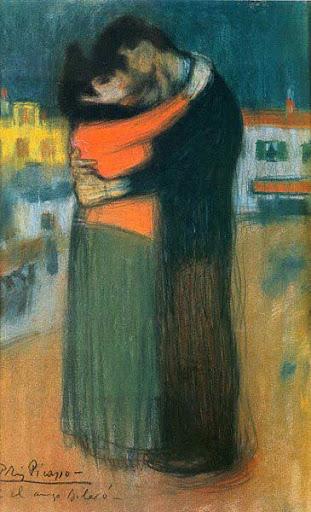 O abraço - Pablo Picasso