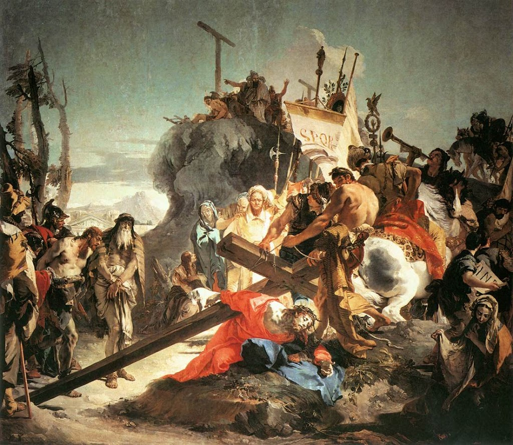 Giovanni Battista Tiepolo - Christ Carrying the Cross