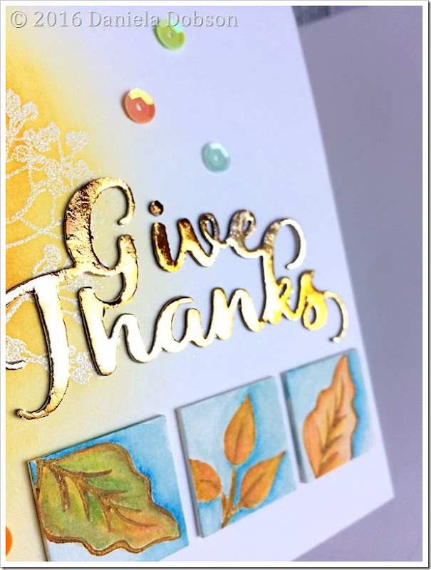 Give thanks close by Daniela Dobson
