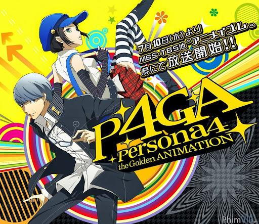 Gắn Chặt Cùng Nhau - Persona 4 The Golden Animation poster