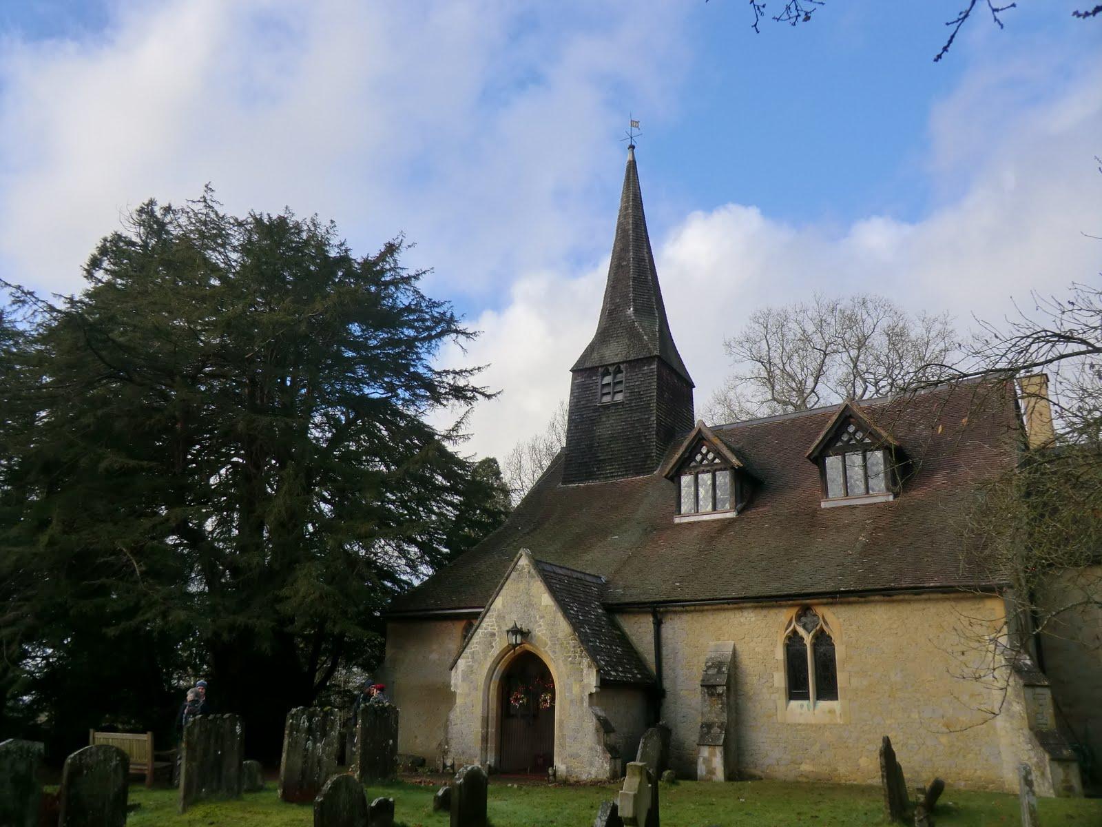 CIMG5140 St Peter's church, Tandridge