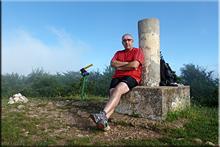 Arrieta mendiaren gailurra 1.006 m. --  2015eko ekainaren 27an