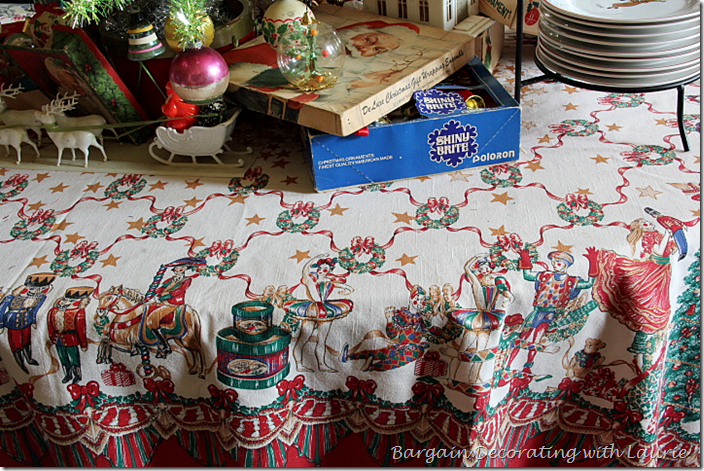 Vintage Nutcracker Tablescloth