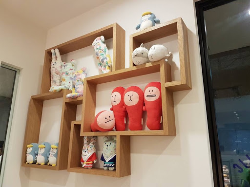 Plush toys from Craftholic Cafe at SYS Memorial Hall Taipei