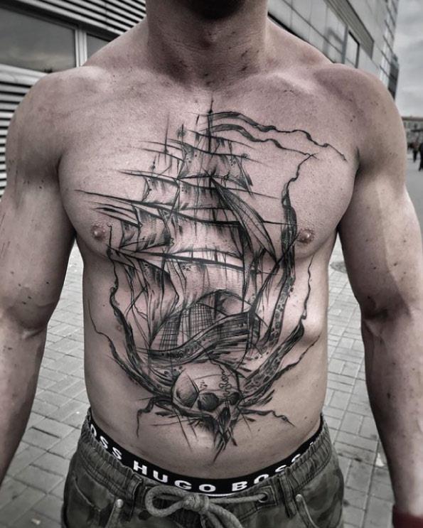 este_esboçou_navio