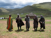 Traditional lifestyle in Lesotho