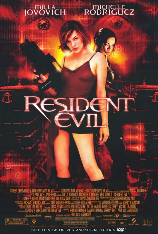 Poster Of Resident Evil (2002) Full Movie Hindi Dubbed Free Download Watch Online At Alldownloads4u.Com