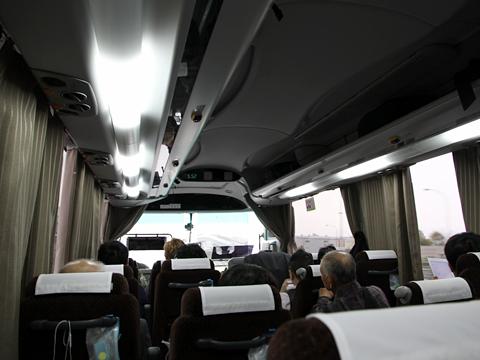 西鉄高速バス「ライオンズエクスプレス」 8545 車内 その2