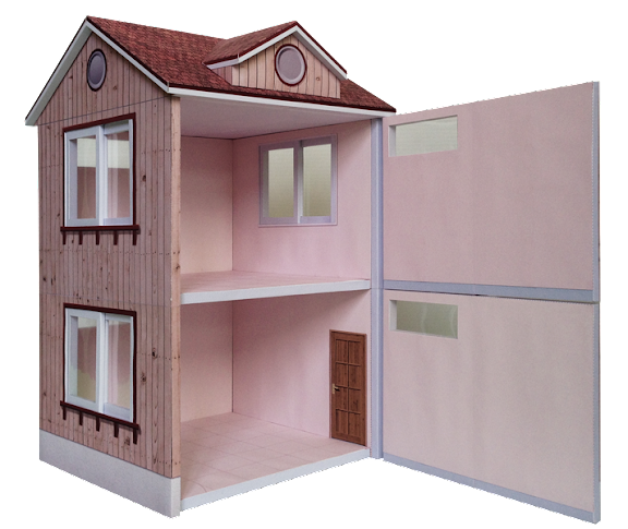 dollhouse,娃娃屋;房屋;公仔