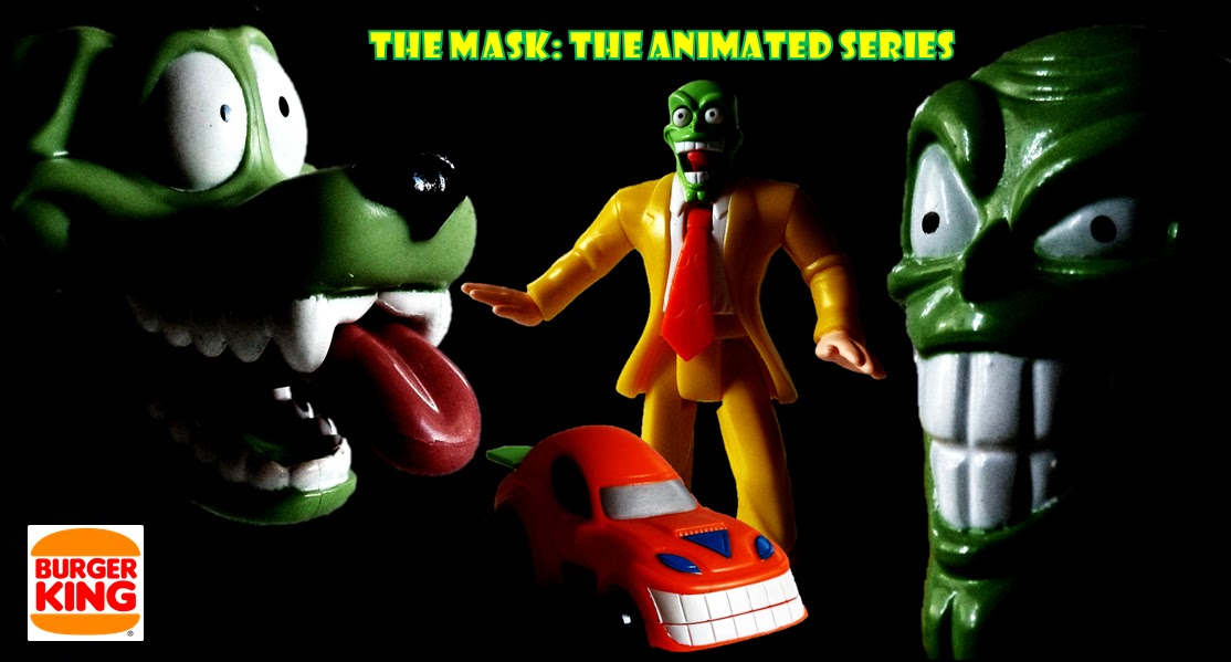 movie tie in toys restaurant collectables the mask the animated