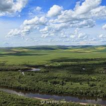 额尔古纳根河湿地 photos, pictures