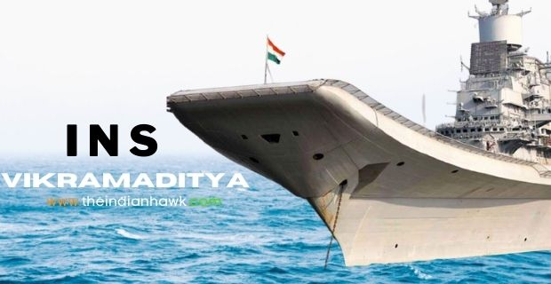 INS Vikramaditya Side View Image