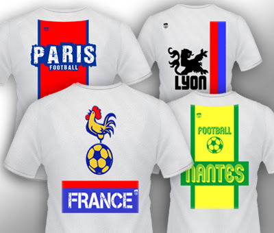 T-shirt supporters de football