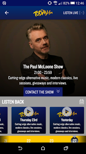 Today FM screenshot
