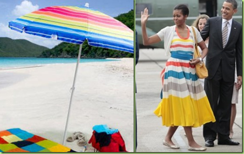 beach umbrella dress