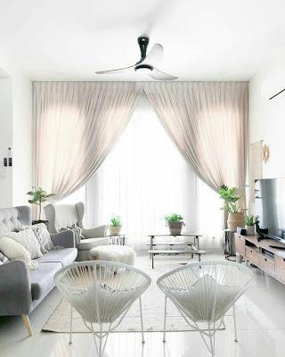 Interior ruang keluarga kekinian