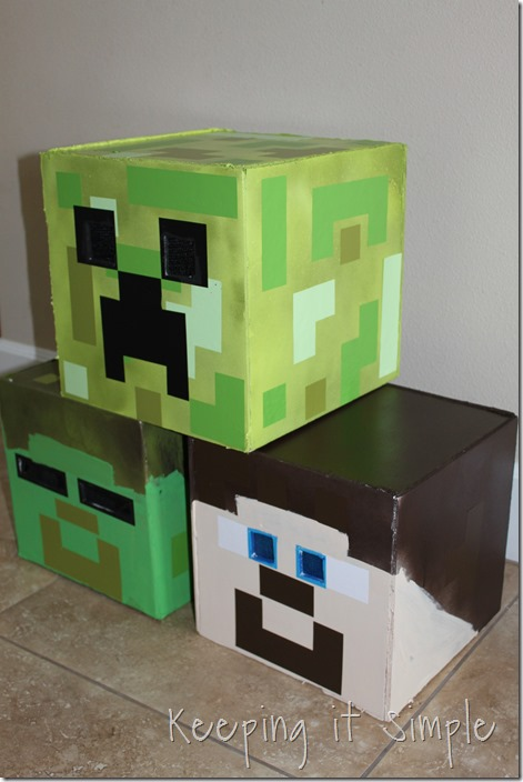 Diy minecraft costumes creeper steve and zombie costume keeping diy minecraft creeper steve and zombie costumes 10 solutioingenieria