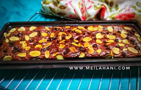 Resep Chewy Brownies ala Erlina Lim dan Tips Shiny Crust