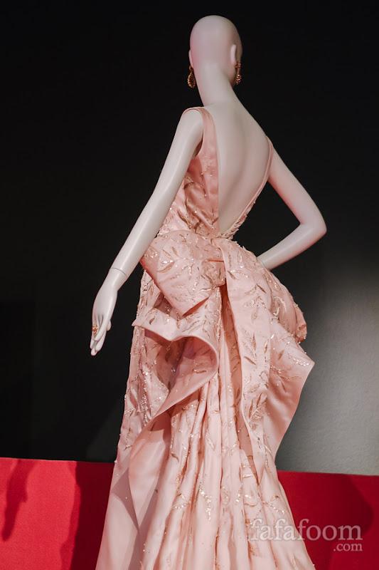 Details of Oscar de la Renta, Custom evening dress, 2014.