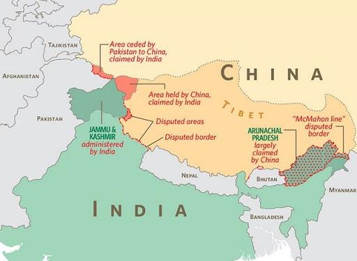 الصين والهند .. كيف يتنافس جيران على المحيط الهندي