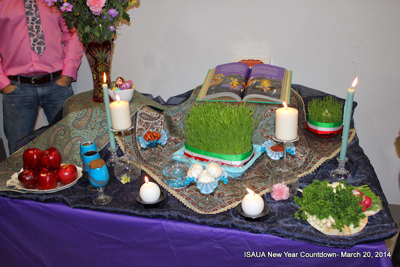 Iranian New Year Countdown ISAUA