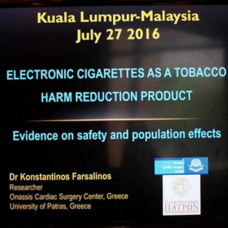 Ketagihan nikotin : Rokok atau e-Rokok / Vape ?