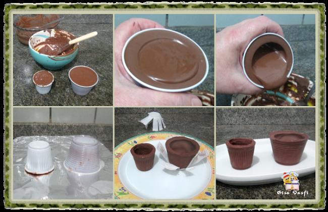 Casquinha e copinho de chocolate 8
