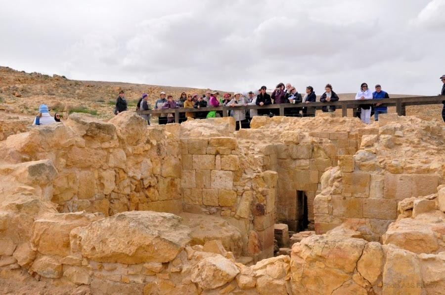 Экскурсия гида Светланы Фиалковой. Бани византийского периода в заповеднике Мамшит.